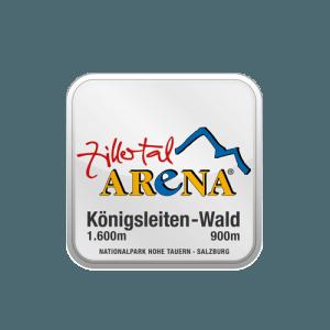 Königsleiten Zillertal Arena Logo