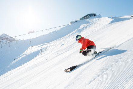 skifahrer carven sonnenhang