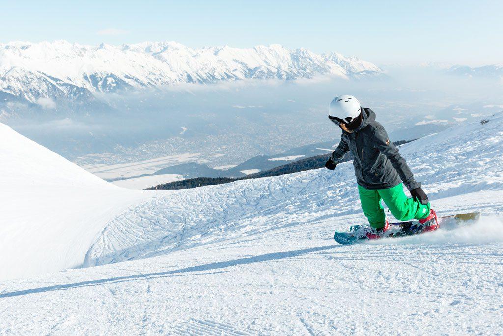 snowboarder first steps