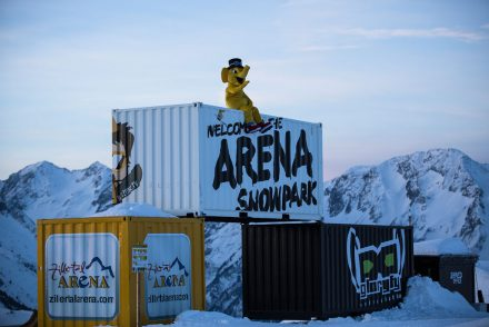Gerlos Snowpark Kicker Boxen