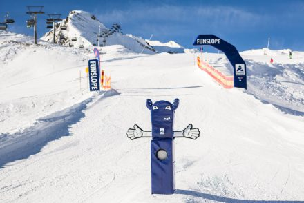 Sonniger Funslope in Hintertux