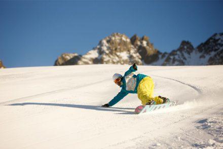 Snowboarder Carven Sonnenschein