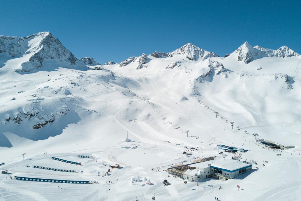 Skigebiets Übersicht
