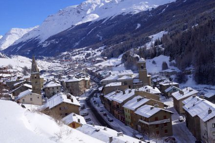 Val Cenis im Tal Übersicht