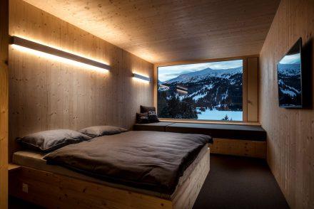 Schlafzimmer im Hotel