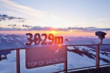 Gipfelsturm in Kaprun