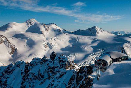 Bergketten Panorama