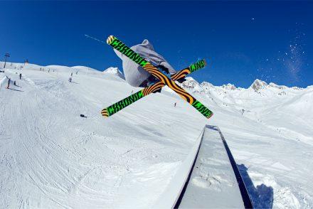 skifahrer freestyle