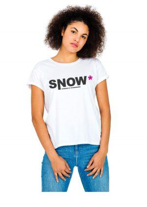 """Model Schneebeben T-Shirt weiss """"Snow"""""""