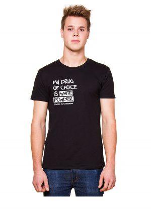 """Model Schneebeben T-Shir schwarz """"SMyDrug"""""""