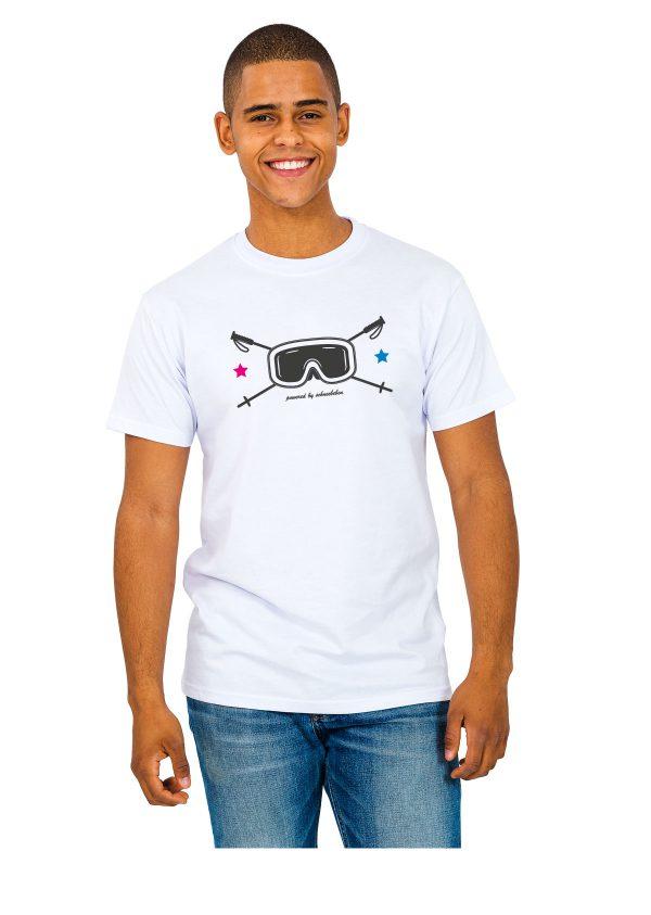 """Model Schneebeben T-Shir schwarz """"Skibrille"""""""