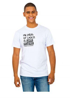 """Model Schneebeben T-Shir schwarz """"MyDrug"""""""
