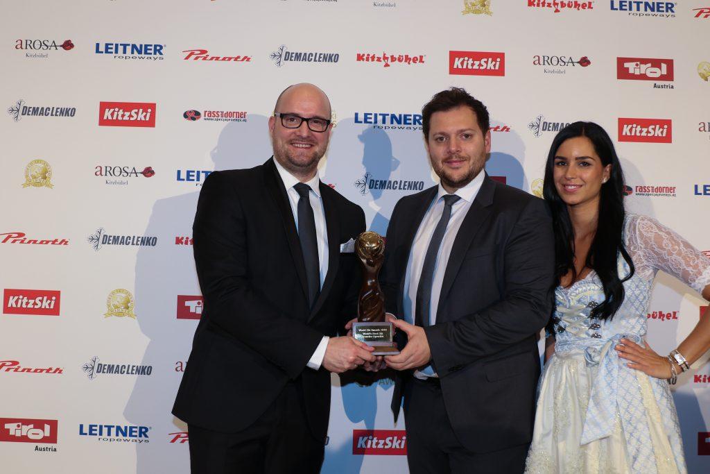 World Ski Award Zeremonier Gewinner Schneebeben