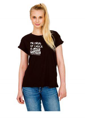 "Model Schneebeben schwarzes Shirt ""MyDrug"""