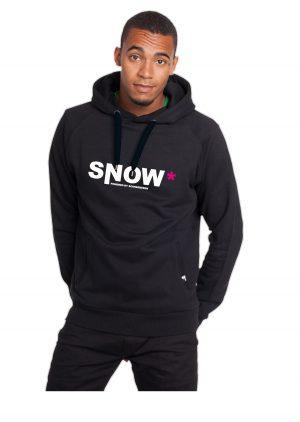 """Model Hoodie Schneebeben """"Snow"""""""