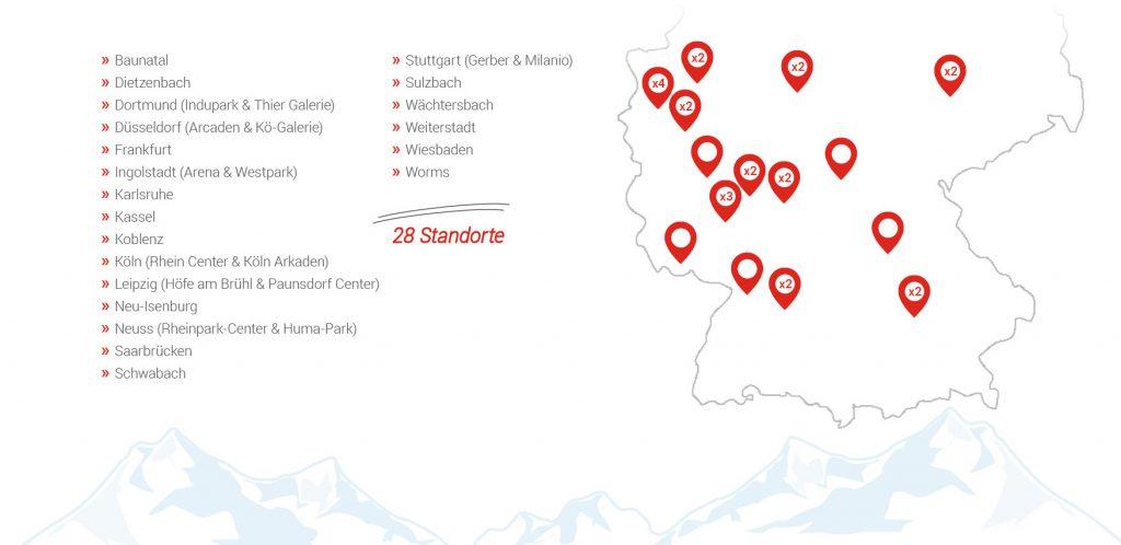 Schneebeben Intersport Standorte