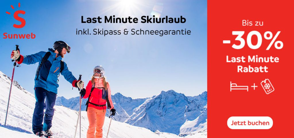 Last Minute Skiurlaub
