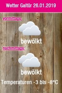 Wetter Grafik Galtür 26.01