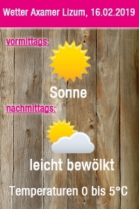 Wetter Grafik 16.02.