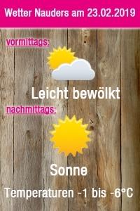 Wetter Grafik Nauders 23.02