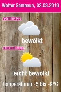 Wetter Grafik Samnaun
