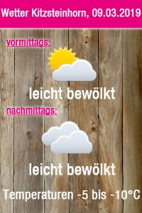 Wetter Kitzsteinhorn 09.03.2019