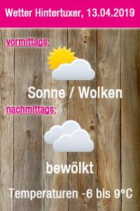 Wetter Hintertuxer