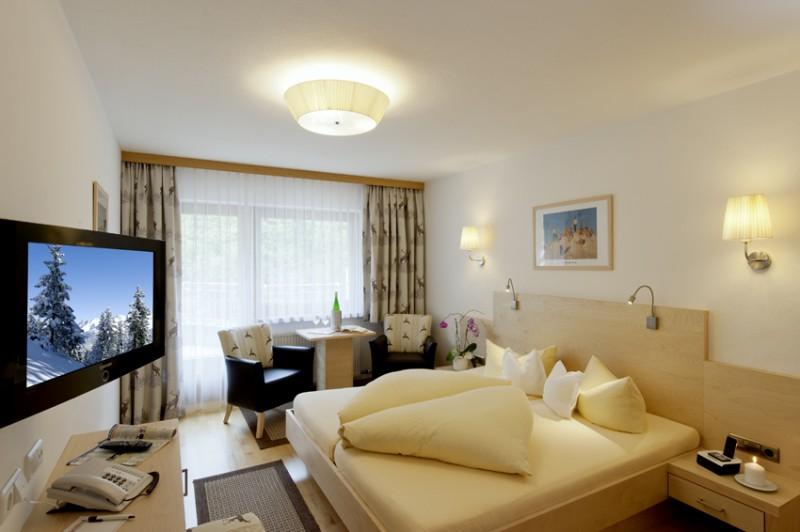 Zimmer in einem Hotel in Gerlos
