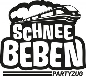 Schneebeben Party Zug Logo