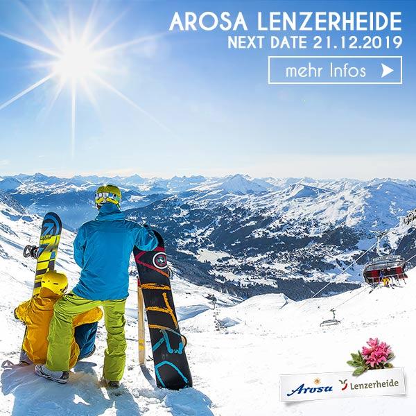 Snowboarder Chillen Alpenpanorama