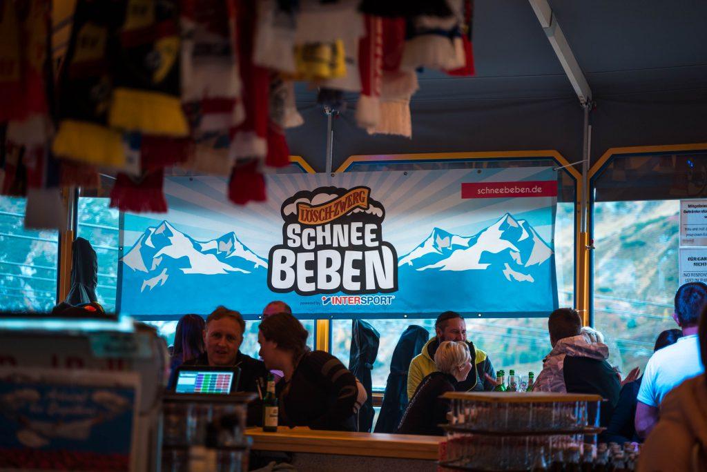 Schneebeben Banner