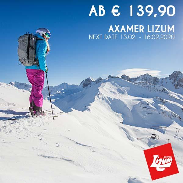 Gipfel Panorama Winter Axamer Lizum