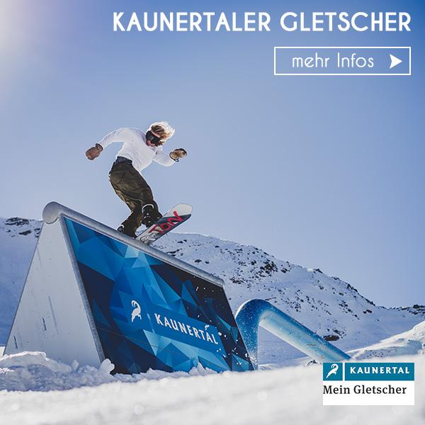 Skigebiet Kaunertaler Gletscher