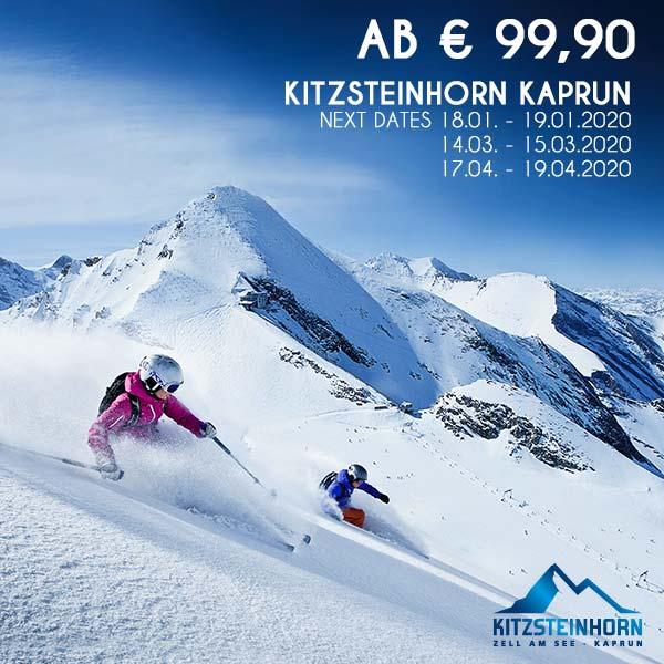 Kitzsteinhorn Ski-Wochenende urlaub Schneebeben